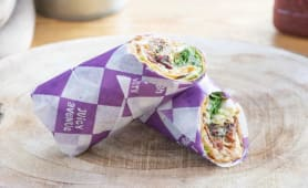 Wrap Chicken Hummus