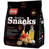 Snacks picantes crackers