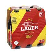 Cerveza rubia nacional lager