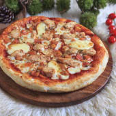 Pizza Pan Barbecue Chicken