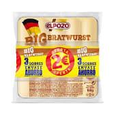 Salchichas big bratwurst envase