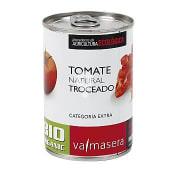 Tomate natural troceado bio