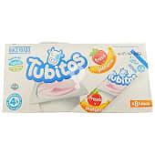 Yogur tubitos sabor fresa y plátano