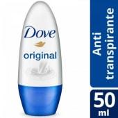 Dove Desodorante Antitranspirante Original Roll On X 50 Ml.