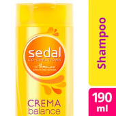Sedal Shampoo Crema Balance X 190 Ml.