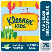 Pañuelos Kleenex Kids Caja X 75U.