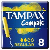 Tampax Tampones Regulares X 8 U.
