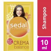 Sedal Shampoo Crema Balance X 10 Ml.