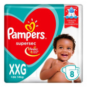 Pampers Pañal Supersec Regular Talle  Xxg