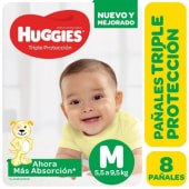 Huggies Pañal Classic Regular Talle M