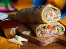 Double Cheese Burrito Pui Cajun