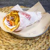 Sandwich Souvlaki de porc/pui