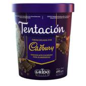 Pote Grido Cadbury con almendras (1 lt.)