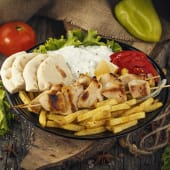 Chicken Suvlaki Portion