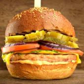 Meniu Chilli Cheeseburger pui