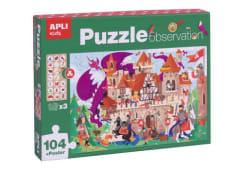 Puzzle O Castelo Apli 104pcs 17916