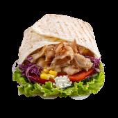 Chicken kebab tortilja – mala