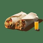 Burritos de Salchicha y Huevo