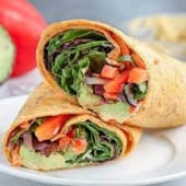 Plain Vegetable Wrap