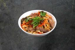 Рисова локшина з яловичиною (300г)