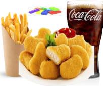 Menu Nuggets + frites + boisson + jouet