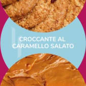 Barattolino ''Croccante al caramello salato'' 500gr