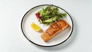 Стейк з лосося (170/100г)