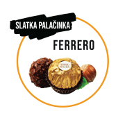 Palačinka Ferrero Rocher