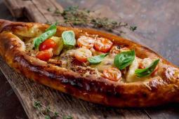 Середземноморський пиріг з морепродуктами (445г)