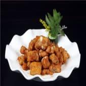Costilla de lomo frito con sal y pimienta