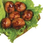 Teriyaki meatballs 6pz