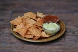 Чіпси начос із сальсою та Гуакамоле (160г)
