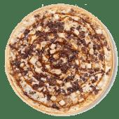 Pizza BBQ crispy Carlos (familar)