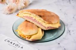 Sándwich de jamón y queso tostado (sin TACC)