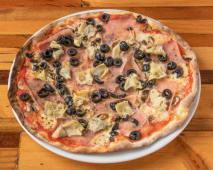 Pizza Quattro Stacioni 24 Centímetros