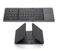 Teclado Bluetooth Inalambrico Plegable Recargable + Touchpad