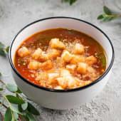 Пряний томатний суп з песто (320г)