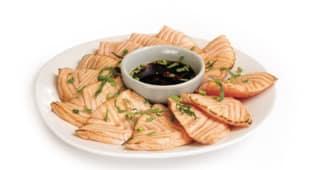 Tataki saumon thaï x12