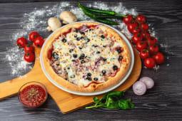 Pizza Tonno e Cipolla medie