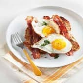 Two Eggs with Bacon & Toast