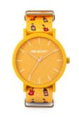 Reloj Mahou by Mr. Boho, guitarra amarillo