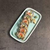 93 Sake tempura futomaki to abokado to usuparagu 6un