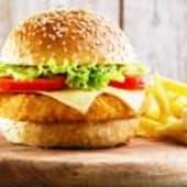 1 Plat de chicken + frites