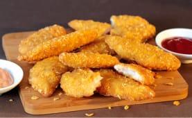 Solomillos de pollo crujiente