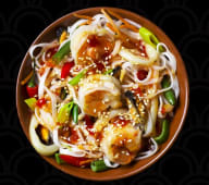 Морепродукти з рисовою локшиною і овочами (360г)