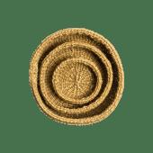 Hand Woven Natural Baskets
