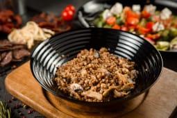 Гречана каша з грибами та цибулею (200г)