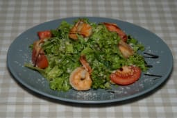 Салат з креветками та авокадо (230г)