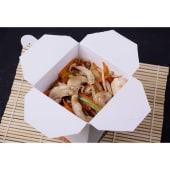 Wok de pollo (fideos)