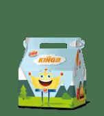 King junior nuggets menù
